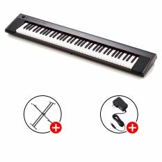 Best Rated Yamaha Np 32 Piaggero Portable Keyboards Black With Piano X Stand