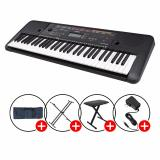 Best Rated Yamaha Psr E263 Portable Keyboard Black With Piano X Stand X Bench Keyboard Bag