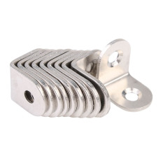 Who Sells The Cheapest 10 Pcs 20Mm X 20Mm Stainless Steel Corner Brace Joint Right Angle Bracket Online