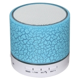 Get Cheap 100 Brand New Mini Wireless Bluetooth Speaker Usb Speakers Portable Music Sound Box Subwoofer Hand Free Call Led Speaker Blue