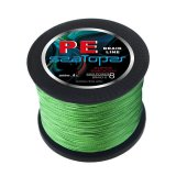 1000M 80Lb 50Mm Multifilament Pe Braided Fishing Line 8 Strands Super Strong Braid Fish Line Green Lowest Price