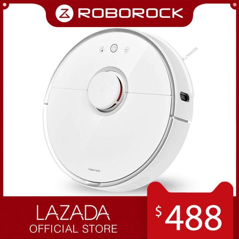 Roborock Robotic Vacuum Cleaner S5 White Xiaomi Robot with Sweeping Mopping ( 1 Year Official Warranty ) Singapore