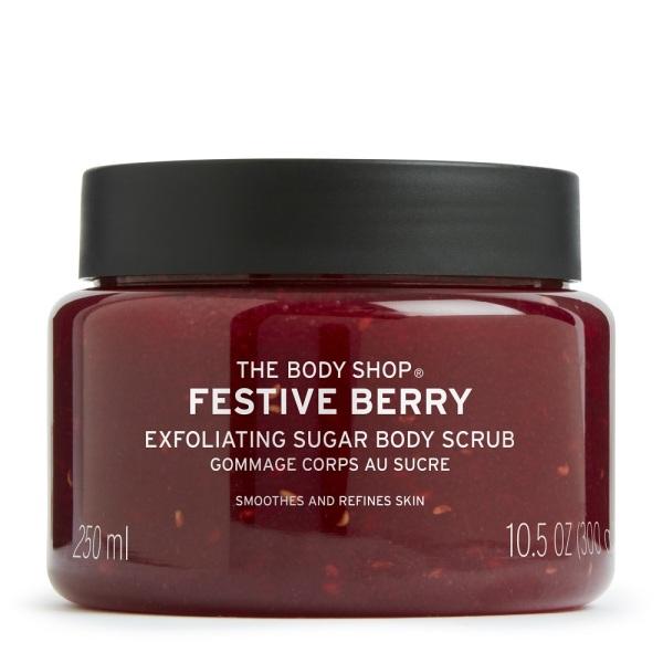 Buy The Body Shop Festive Berry Body Scrub 250ML (Christmas Special Edition) Singapore