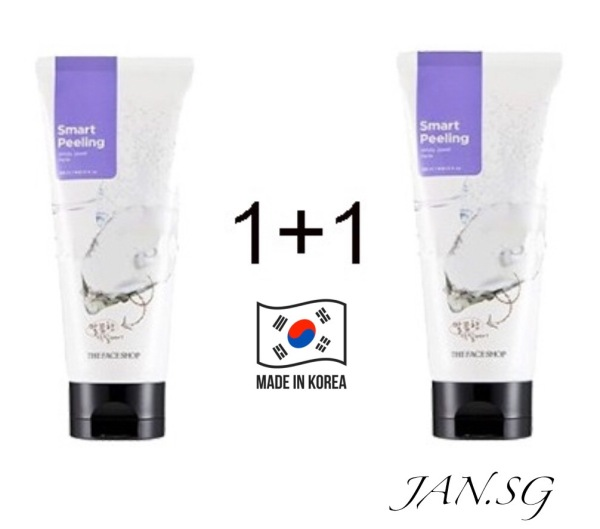 Buy *Clearance Promo Bundle of 2* The Face Shop Smart Peeling (White Jewel Peeling) Exfoliating Cleanser 120ml Singapore