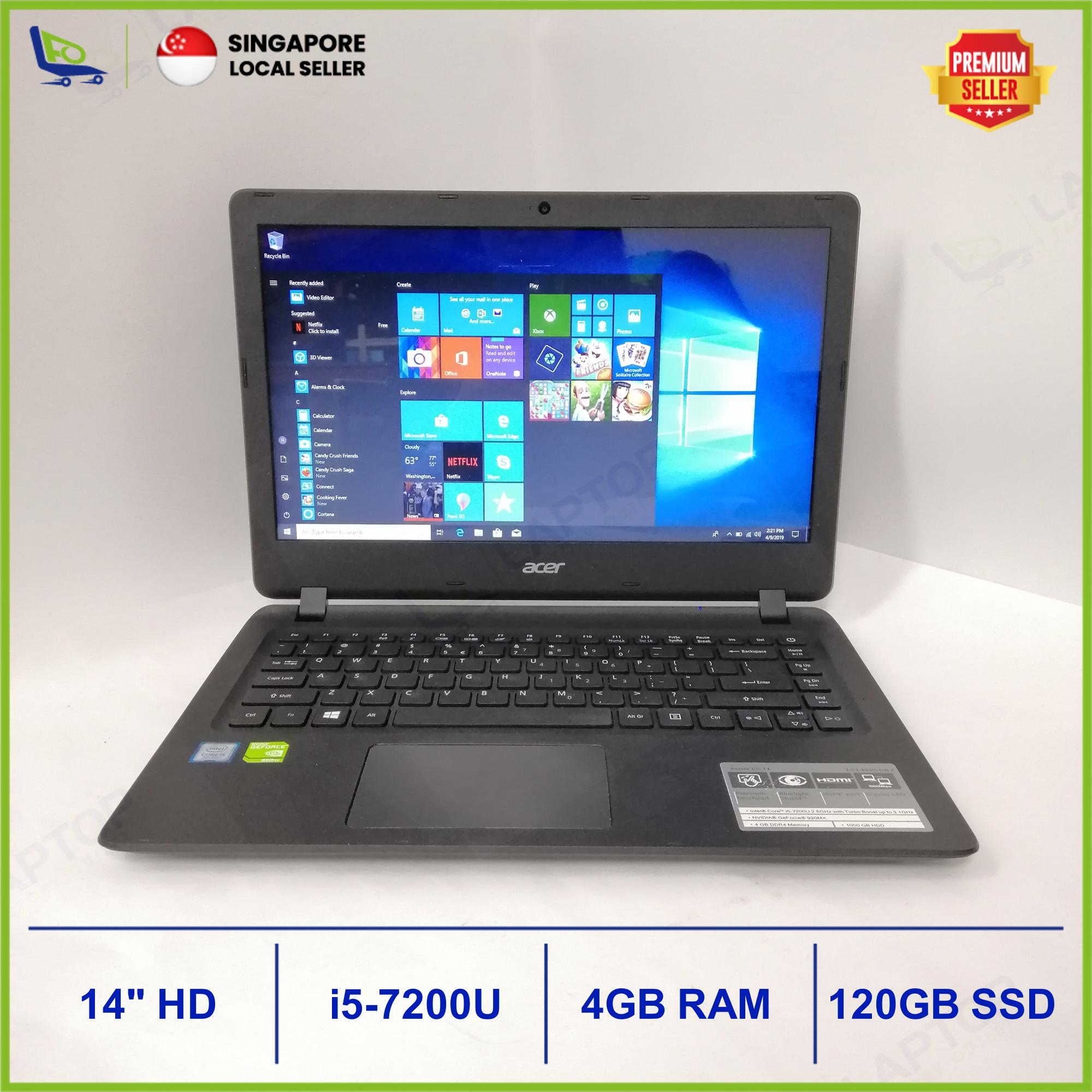ACER Aspire ES1-433 (i5-7/4GB/120GB) [Premium Preowned] Refurbished