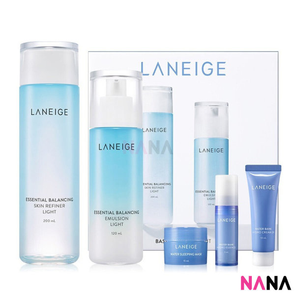 Buy Laneige Basic Duo Set - Light (5 items) Singapore