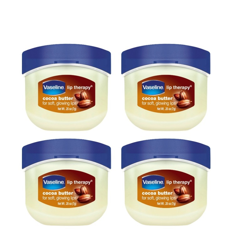 Buy (BUNDLE OF 4) VASELINE LIP THERAPY TUB COCOA BUTTER 7G Singapore