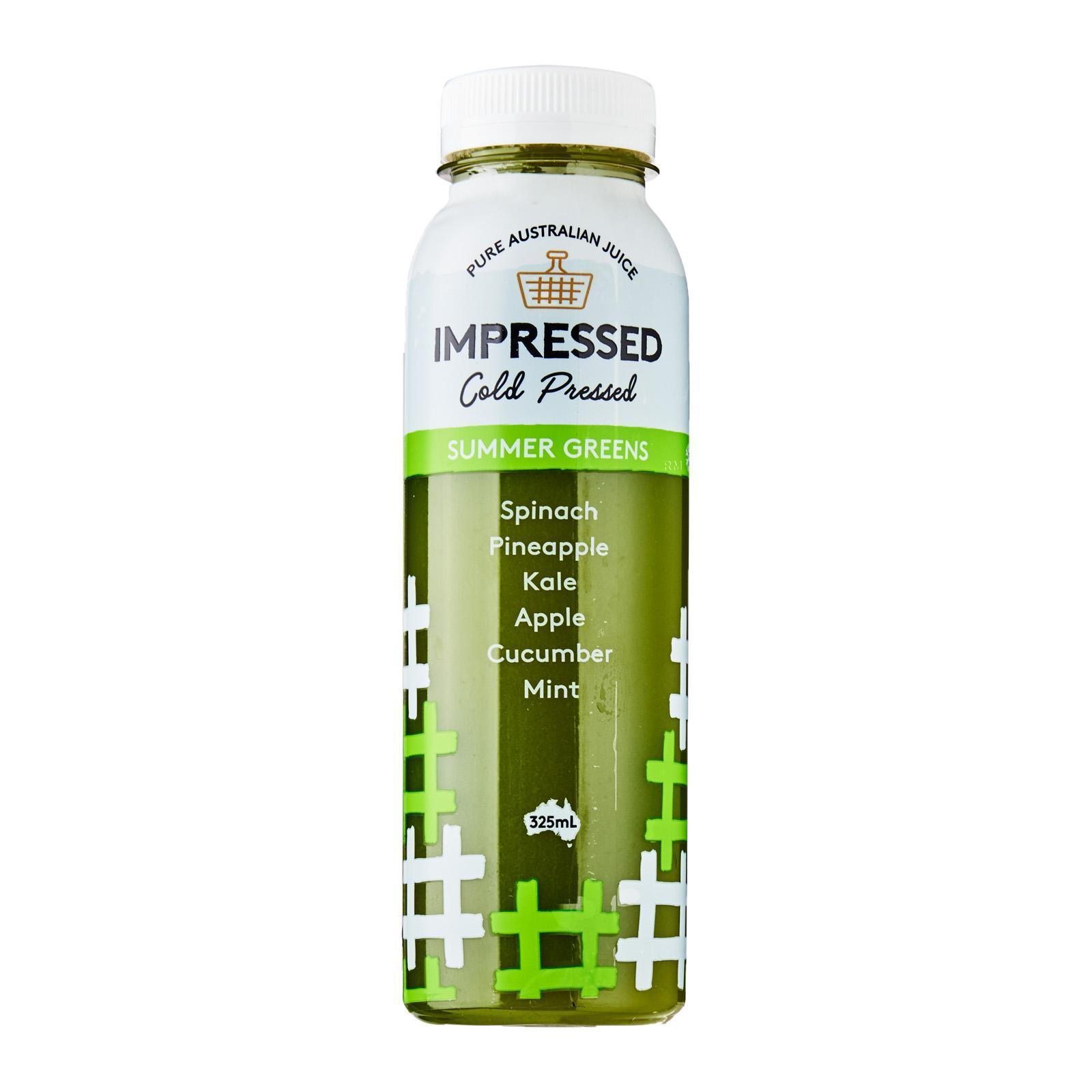 Impressed Summer Greens Cold Pressed Juice