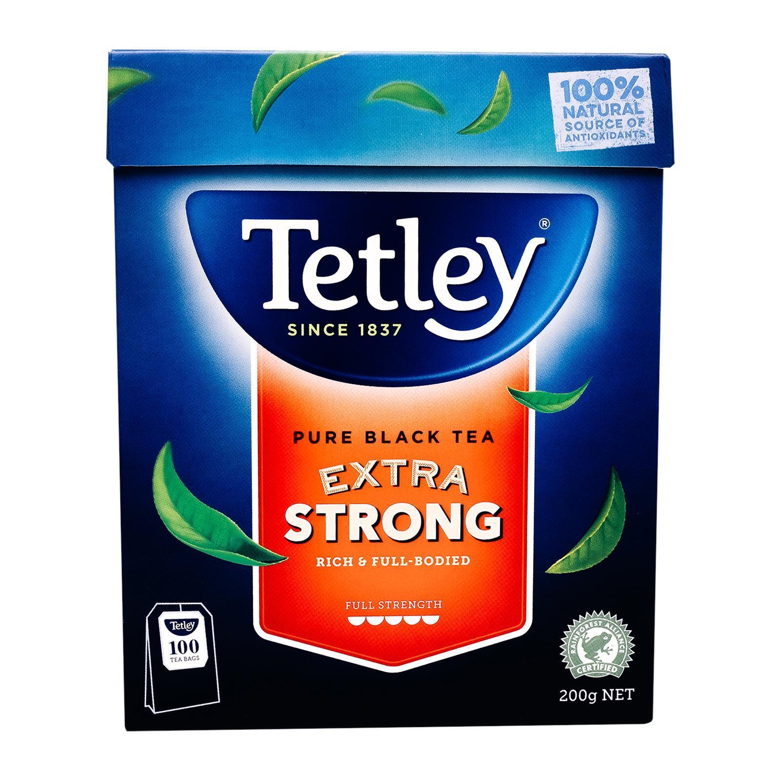 Tetley Australia Pure Black Tea Extra Strong - By Sonnamera - By Sonnamera