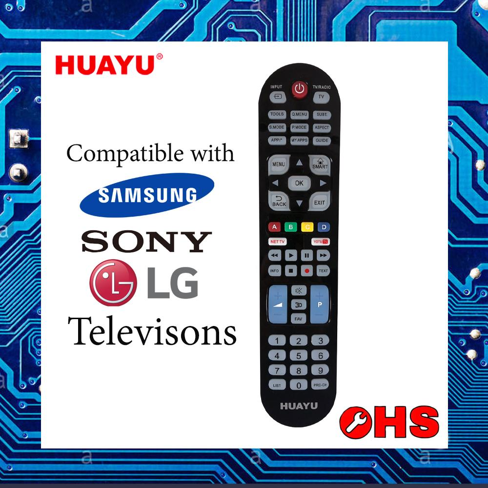 Latest Huayu TV Remote Controllers Products | Enjoy Huge Discounts