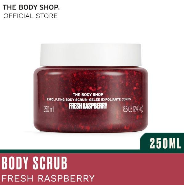 Buy The Body Shop Fresh Raspberry Gel Body Scrub 250ml Singapore