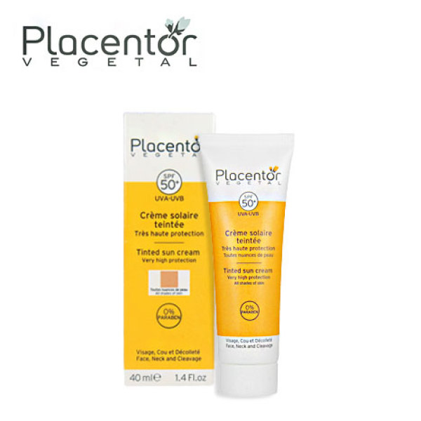 Buy Placentor Vegetal Tinted Sun Cream SPF50+ Singapore