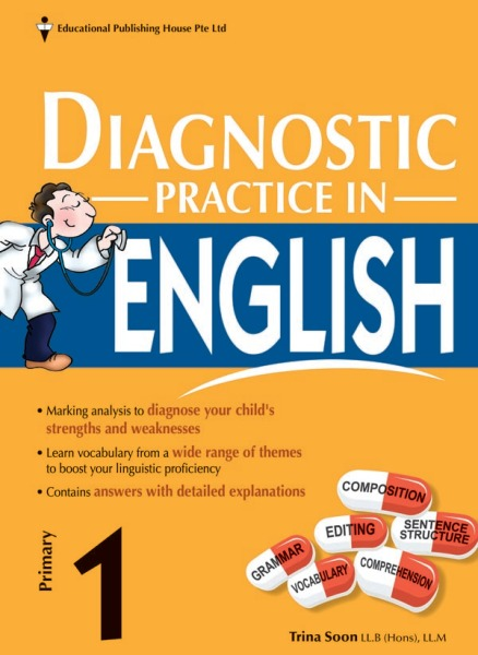 Primary 1 Diagnostic Practice in English / Primary 1 English Assessment Book (9789814858366)
