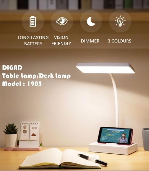 Innovative Dual Lamp Design USB Charging Cold/Warm Light Table Lamp Desk Table Light Led Desk Lamps