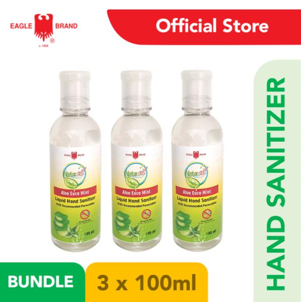 Buy 3x - Eagle Brand Natur oil Hand Sanitizer 100ml Singapore