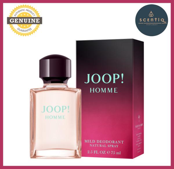 Buy JOOP HOMME MILD DEODORANT NATURAL 75G Deodorant Spray- 3414206000714 - Original Brand JOOP DEO SPRAY 100% Authentic Singapore
