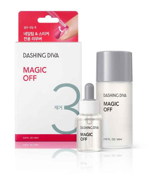 Buy DASHING DIVA OFFICIAL ★Nail Care Products/ Magic OFF/Nail Remover/Magic Press Remover/Gloss Remover Singapore