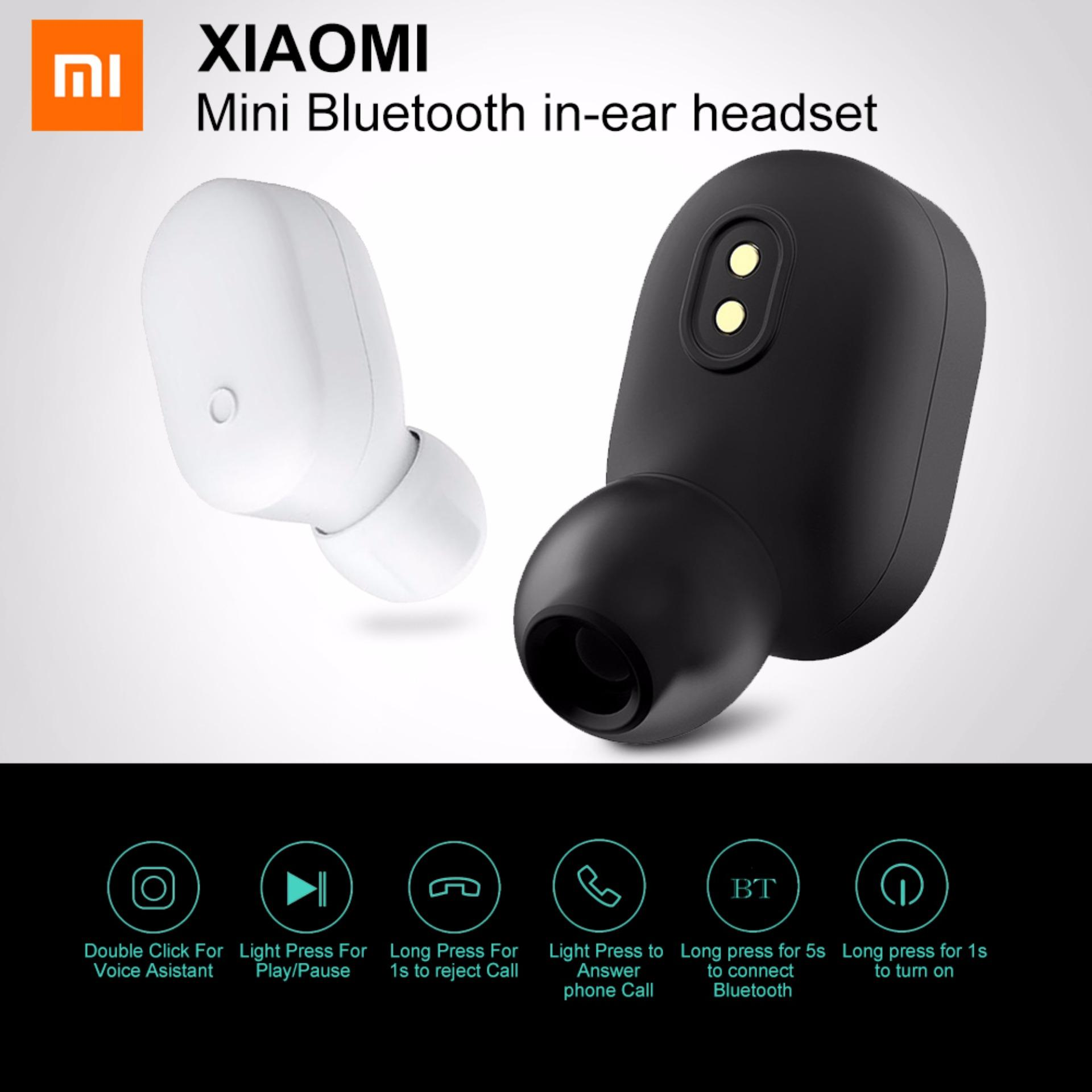 nuovo di zecca df353 b665e Original Xiaomi Lyej05lm Mini In-Ear Single Bluetooth Earphone Wireless  Ultralight Ipx4 Waterproof Earbud With Magnetic Charging By Islandmall