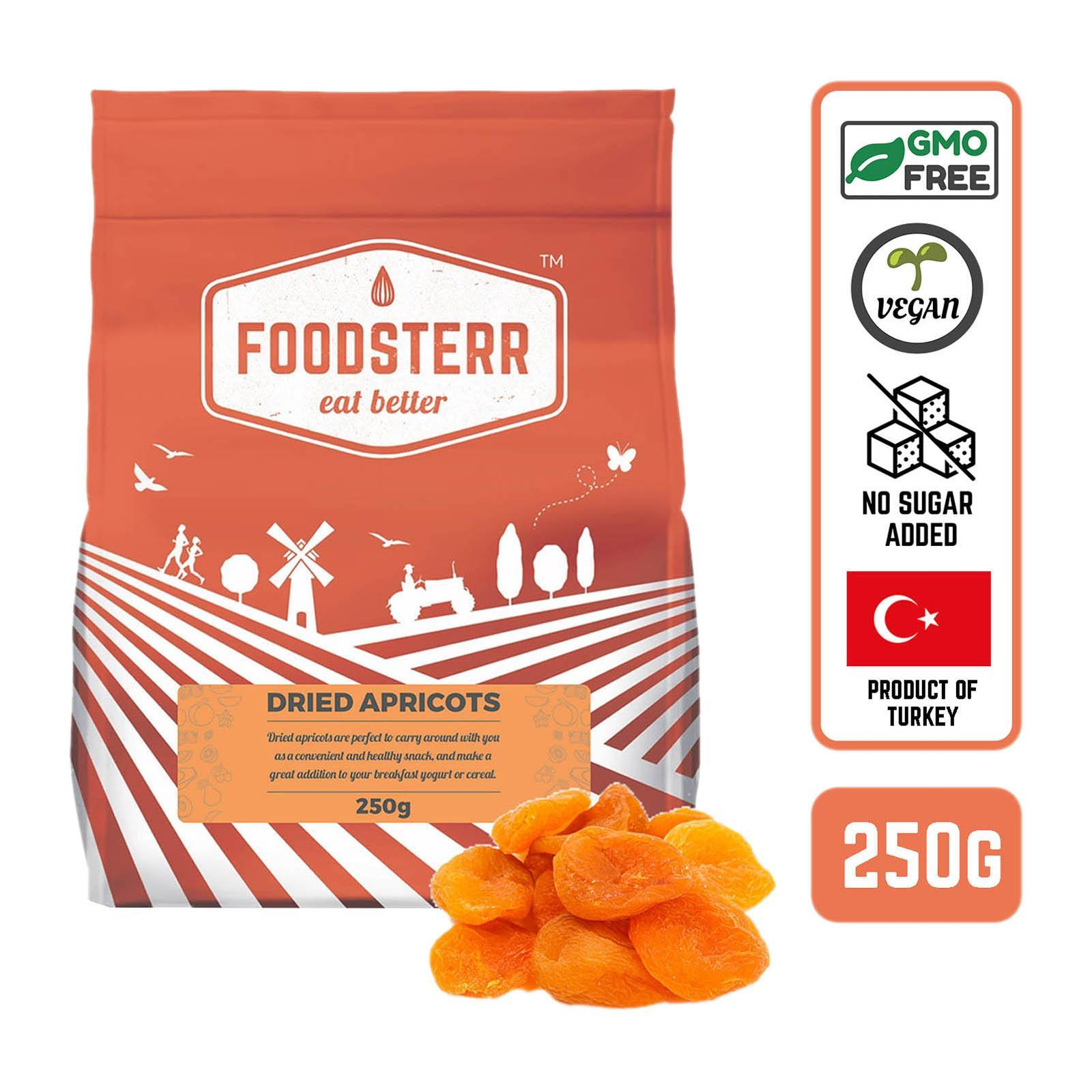 Foodsterr Dried Apricots