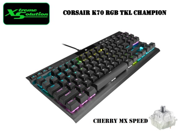Corsair K70 RGB TKL Champion Series Mechanical Gaming Keyboard Singapore