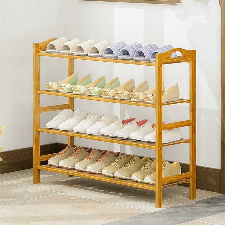 Bamboo Shoes Rack/Storage Rack /shoe shelf / 4/5/6 Tiers 70cm /80cm/90cm
