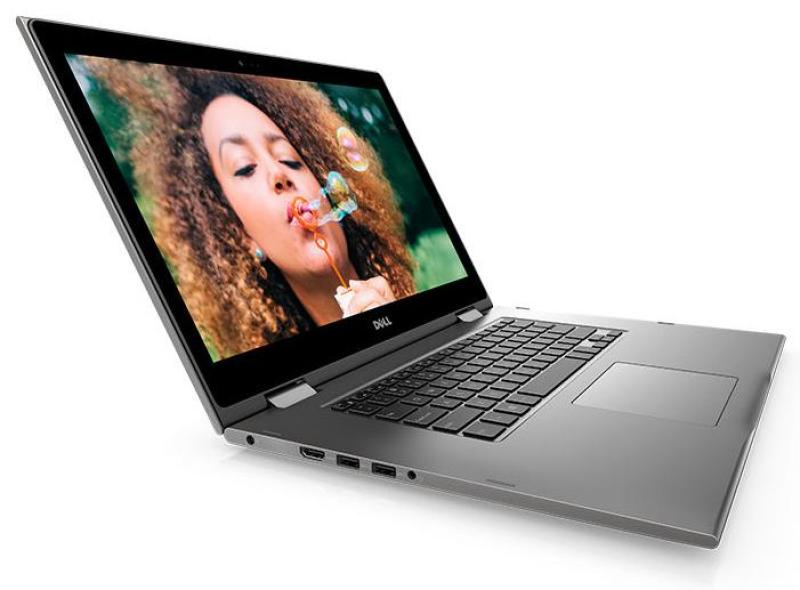 New model Dell i5579-7050GRY-PUS Inspiron 15.6 Full HD  2 in 1 Touchscreen i7-8550U 1.8GHz 8GB (upgradable)RAM 480/512GB SSD+SSD/HDD option  Win 10 Home Grey In-build Webcam  , 1 year warranty wireless mouse and  bag,Renewed,not used