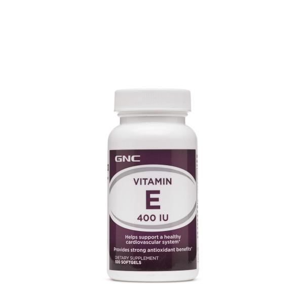 Buy GNC Vitamin E 400 IU 100 Softgels Exp May 2023 Singapore
