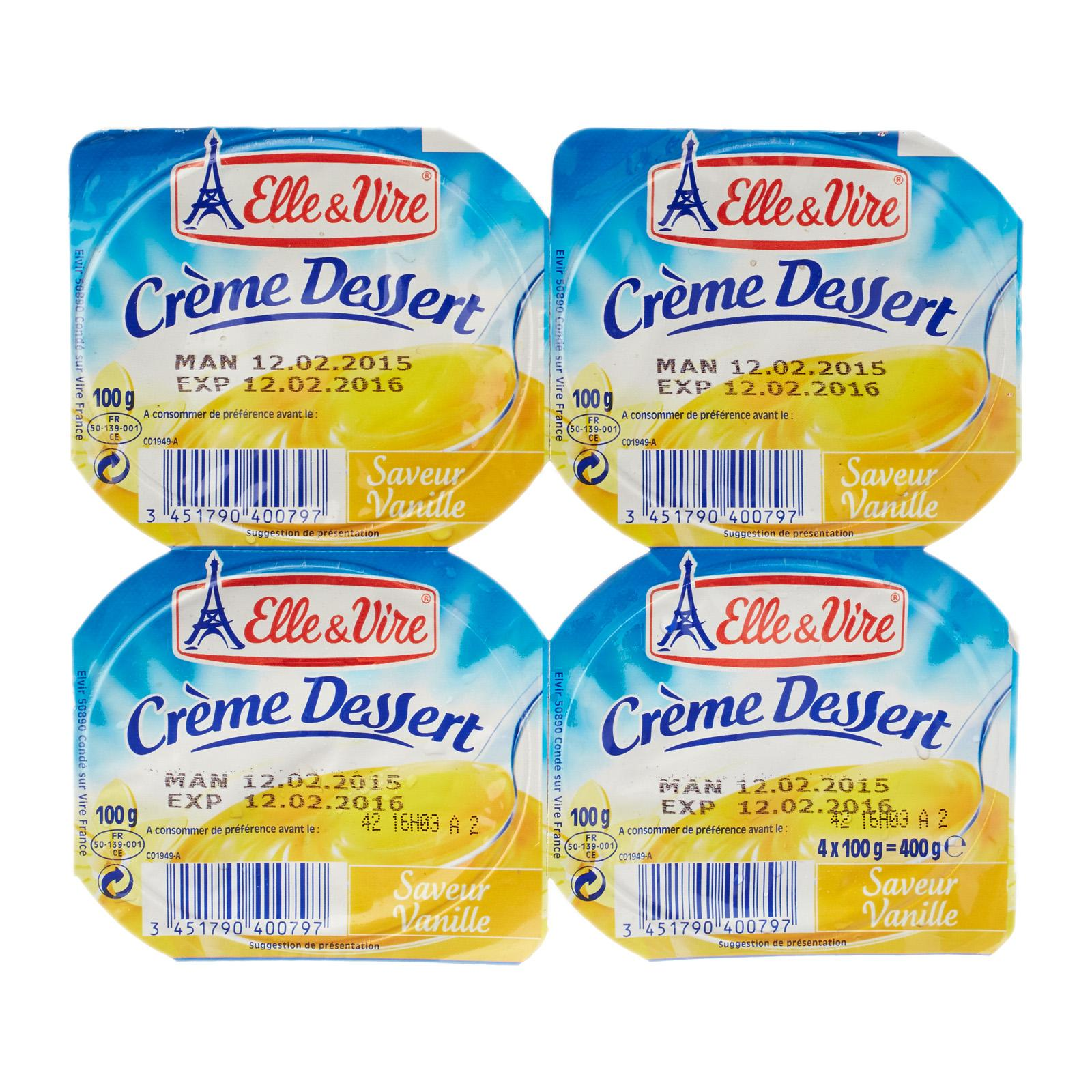 Elle Vire Cream Dessert Vanilla from RedMart - diffmarts