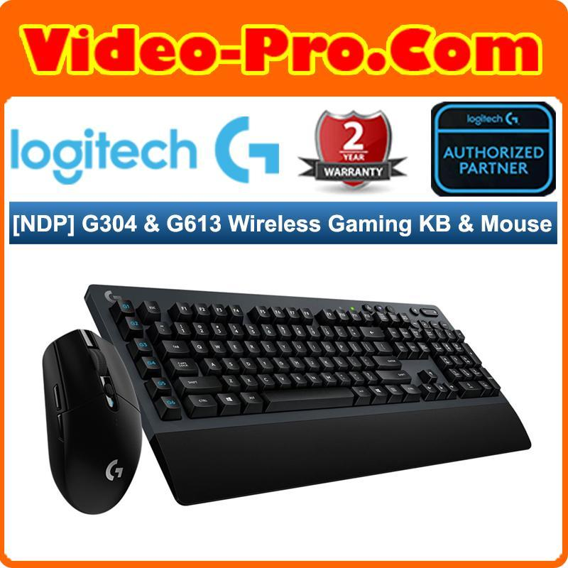 [NDP 19 Bundle B] Logitech G304 Lightspeed Wireless Gaming Mouse Bundle With Logitech G613 Lightspeed Wireless Mechanical Gaming Keyboard Singapore