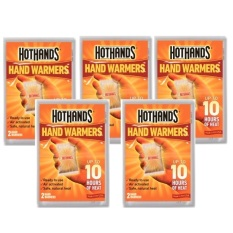10pcs of HotHands HAND Warmers Handwarmers Travel Heat Hot Packs Cold Wear. Made in USA