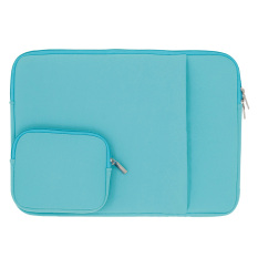 Retail Price 11 13 14 Laptop Notebook Sleeve Case Neoprene Bag Cover For Macbook Air Pro Tablet Pc 13 Inch Light Blue Intl