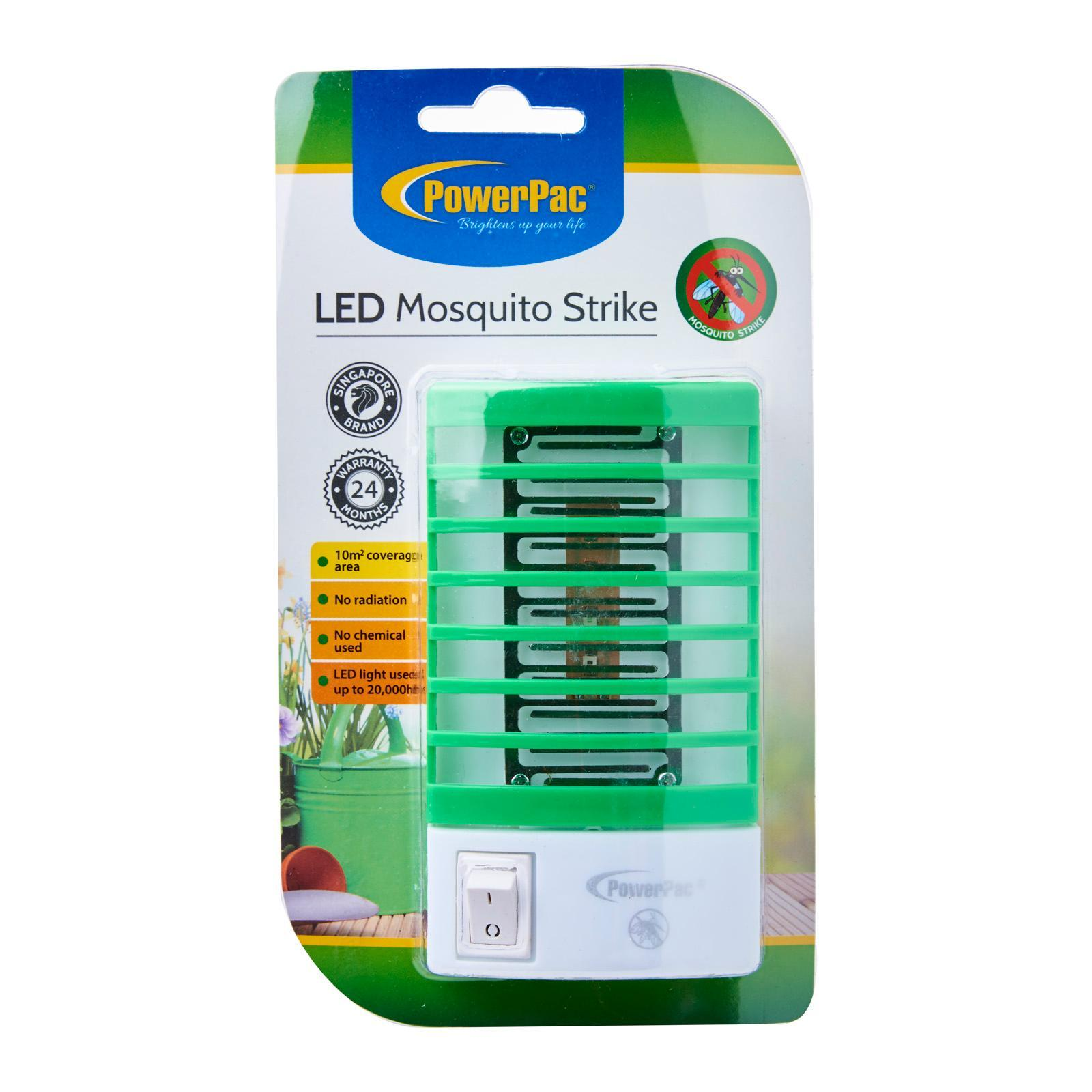 PowerPac Led Mosquito Power Strike - No Radiation and Chemical Used (Pp2234)