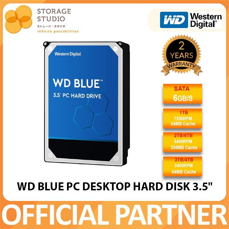WD BLUE PC Desktop Hard Disk 3 5
