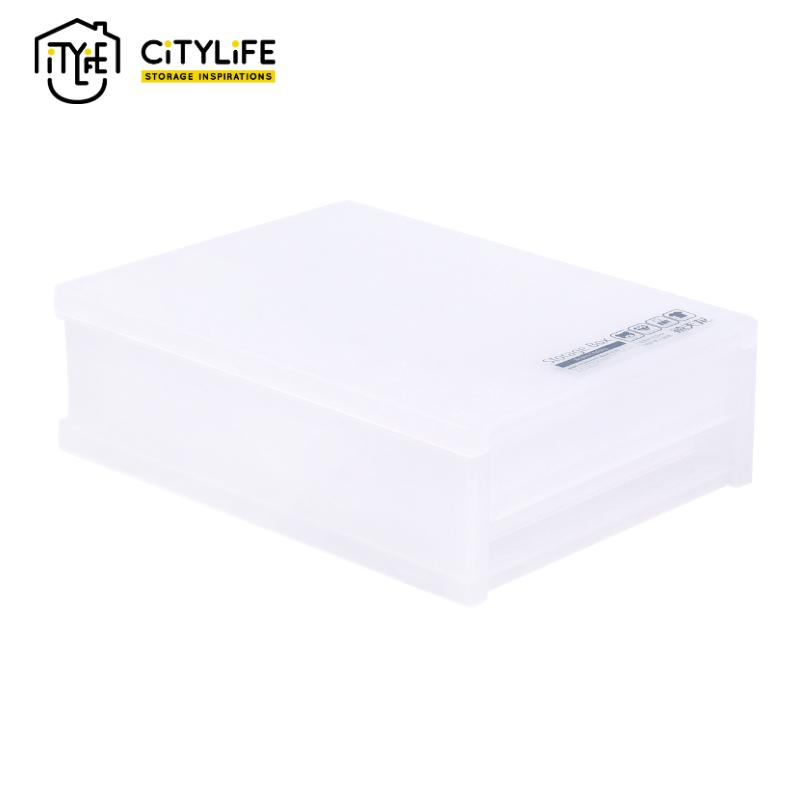 [Bundle of 3]  - Citylife 1 L Frost Mini Single Tier Drawer (Small)
