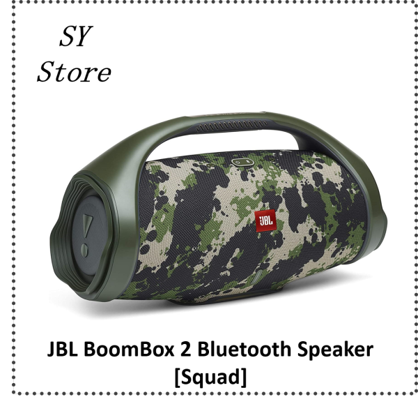 JBL BoomBox 2 IPX7 Waterproof portable Bluetooth Speaker - SY Store Singapore