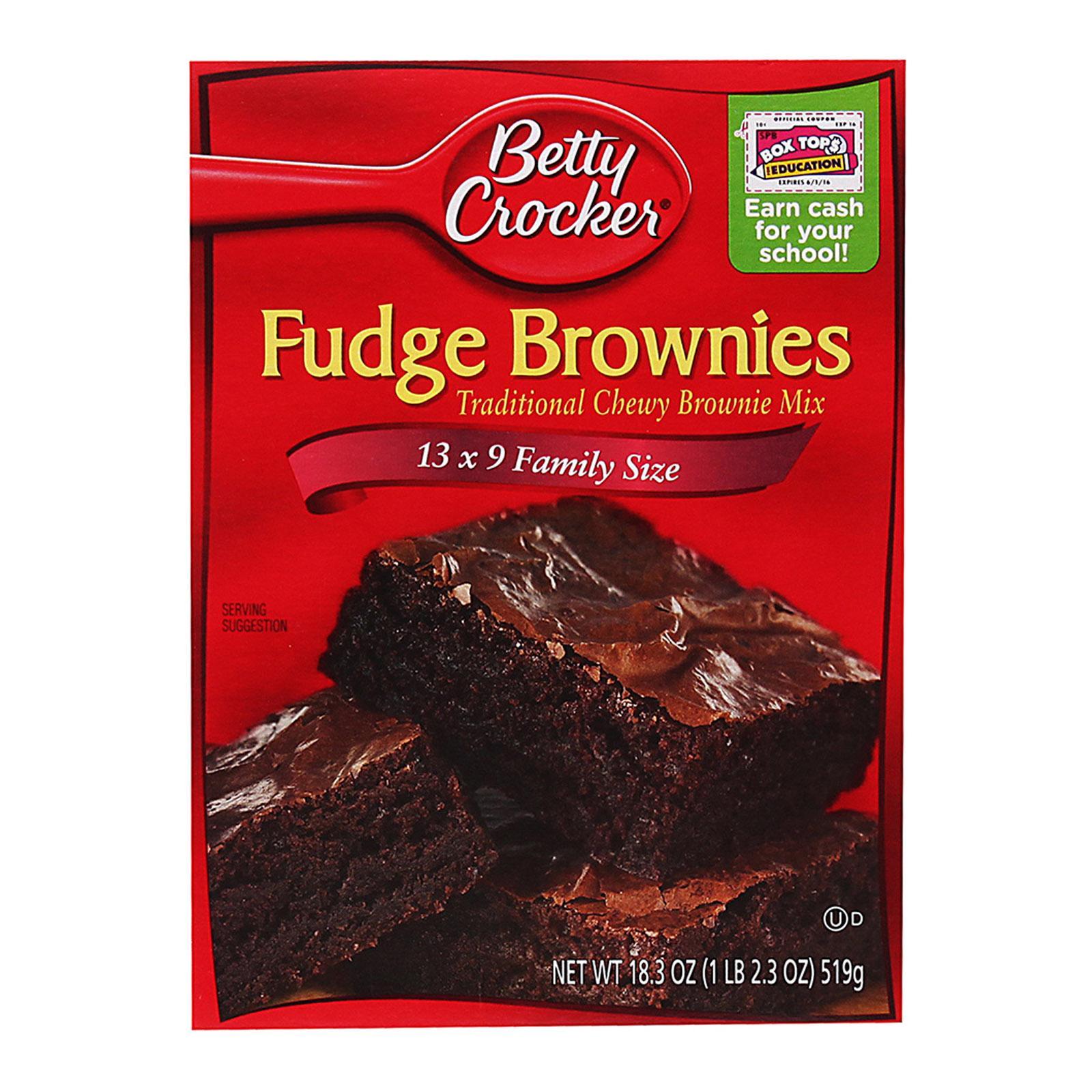 Betty Crocker Fudge Brownie Mix - Chocolate