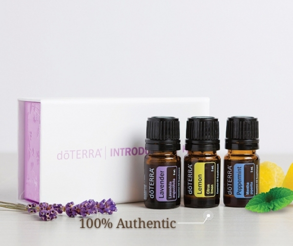 Buy doTERRA Essential Oil Introductory Kit 5ml Lavender Lemon Peppermint Singapore