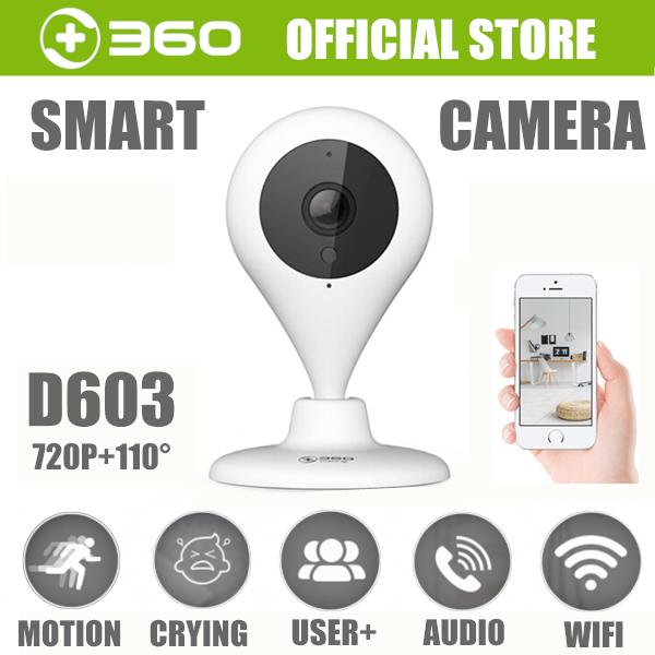 360 D603 720p Wifi Ip Camera Cctv Home Wiifi Security Camera 7m Night Vision Baby Monitor 110 Degree Two Way Audio By 360.