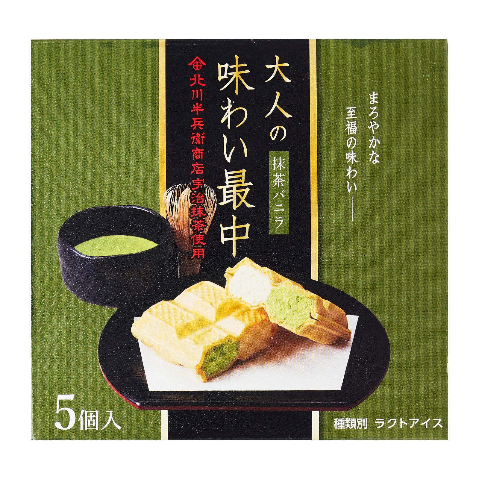 Toyo Matcha And Vanilla Monaka Ice Cream Sandwich - Frozen