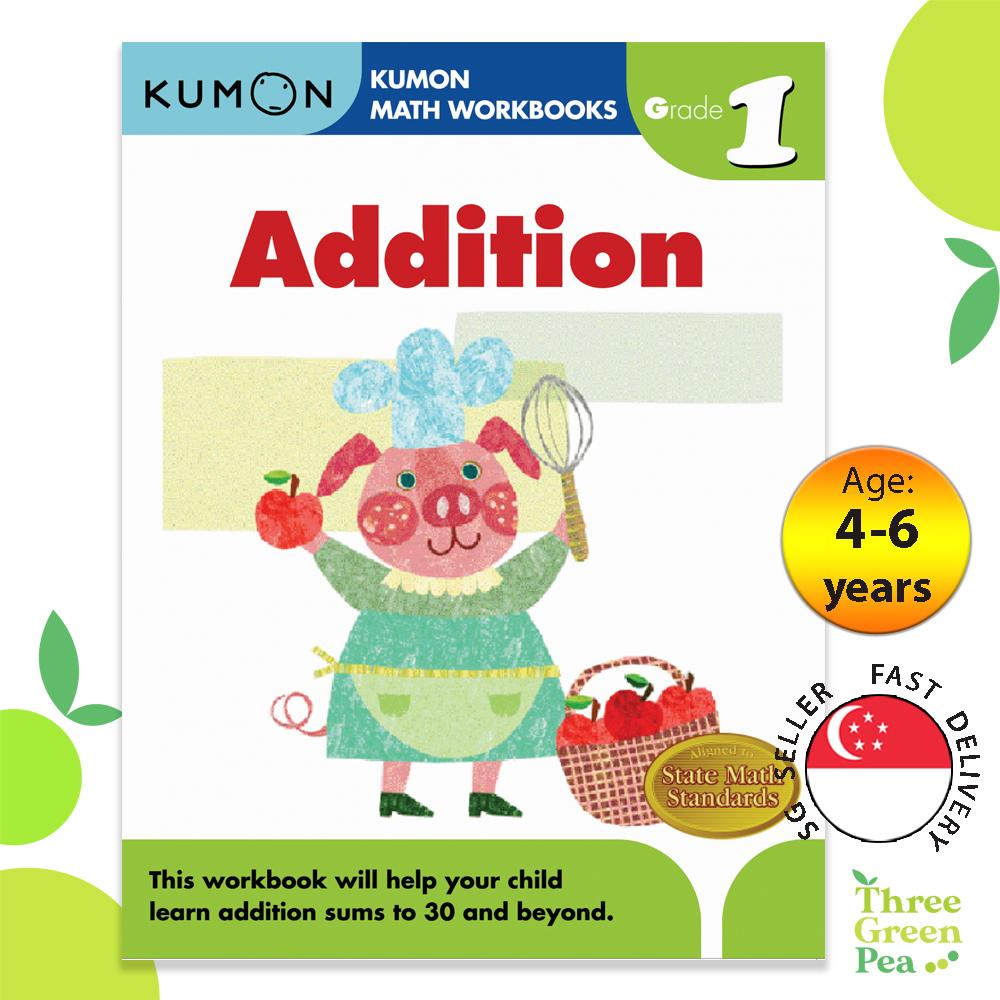 Kumon Math Workbooks Grade 1 ADDITION