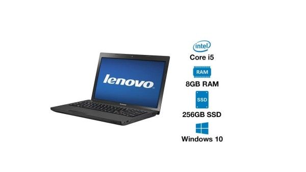 Lenovo Ideapad B490 / Core i5/ 8GB Ram/256GB SSD (brand new)/ Windows 10 pro/ Ms Office (Refurbished)