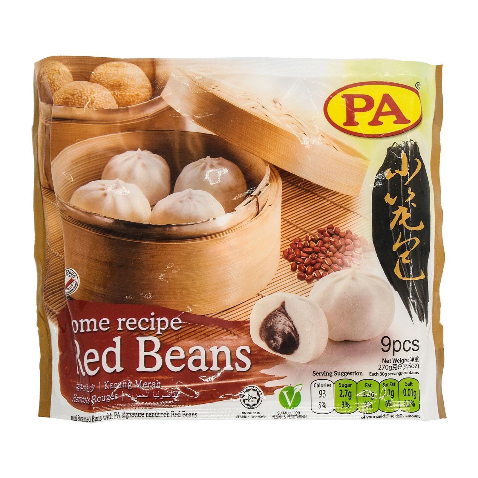 Pa Mini Bun Red Bean - Frozen By Redmart.