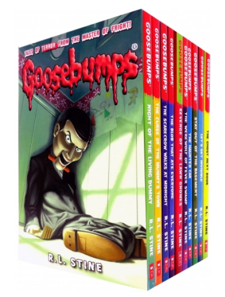 UK ver. Goosebumps Horrorland Series Collection R. L. Stine 10 Story Books Box Set 1 by R.L. Stine