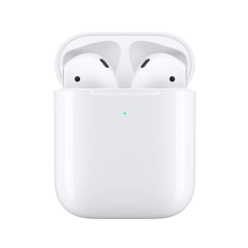Apple airpods 2 Wireless Bluetooth Earplugs (wireless charging version) with 1 year Apple Warranty 3~5 Days Delivery Singapore