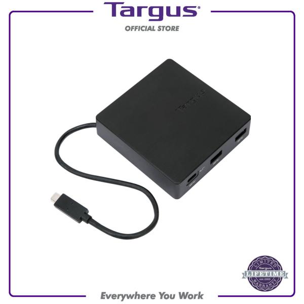 Targus DOCK412AP USB-C Alt-Mode Travel Dock (Black)