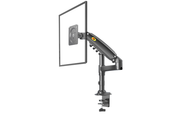 H80 Monitor Arm Bracket / International Vesa Compatible / Monitor Arm Bracket / Single Arm Bracket / Desk Mount ,180 Degree Monitor Rotation, Full Motion