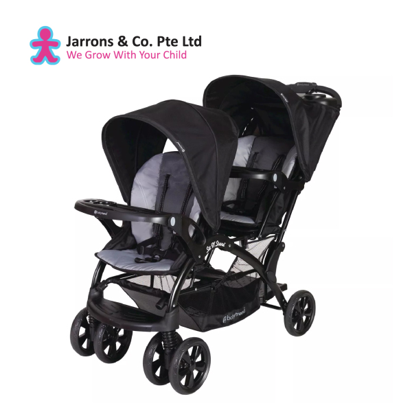 [Jarrons & Co.] Baby Trend Sit N Stand® Double Stroller (Moonstruck) - 6 Months Warranty Singapore