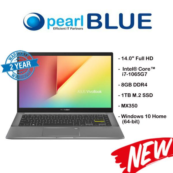ASUS VivoBook S14 S433JQ-EB098T / i7-1065G7 / 8GB DDR4 / 1TB M.2 SSD / MX350 (Indie Black)