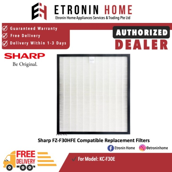 Sharp FZ-F30HFE Compatible Replacement Filters for KC-F30E Singapore