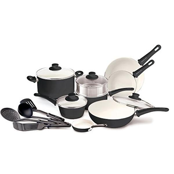 GreenLife Soft Grip Ceramic Non-Stick Cookware Set Singapore